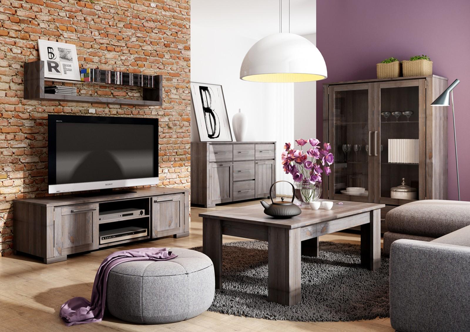 obrázok rustikálna obývacia izba Moderna
