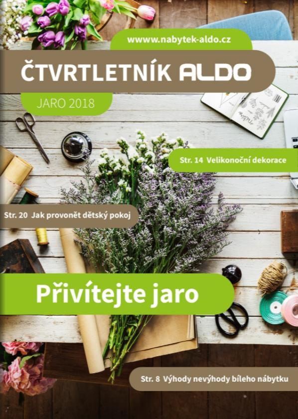 Štvrťročník ALDO - jar 2018