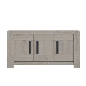 Prostorná komoda Boston medium grey oak
